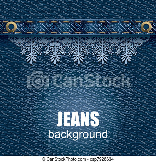 Jeans background - csp7928634