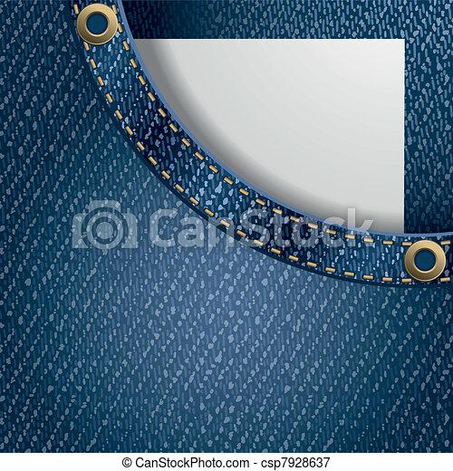 Jeans background - csp7928637
