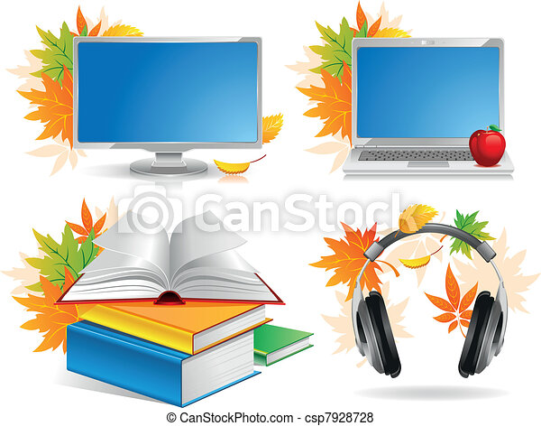 School icon set - csp7928728