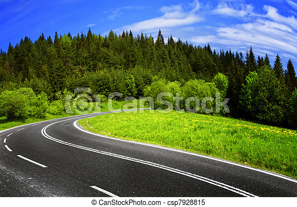Mountain road - csp7928815
