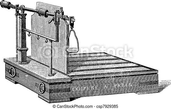 vecteur clipart de balance romaine quilibre ou balance romaine vendange csp7929385. Black Bedroom Furniture Sets. Home Design Ideas