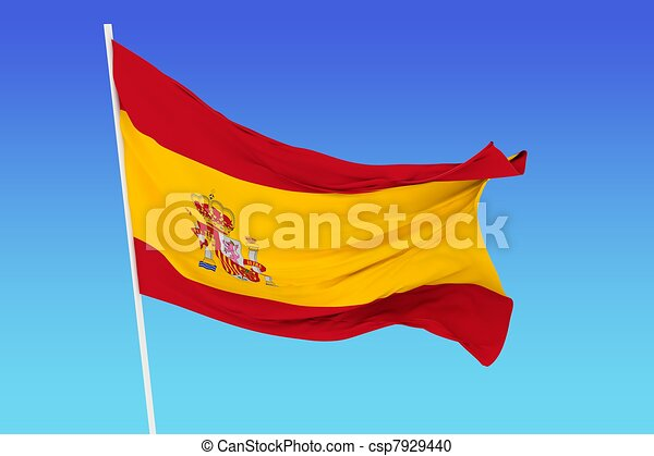 Flag of Spain - csp7929440