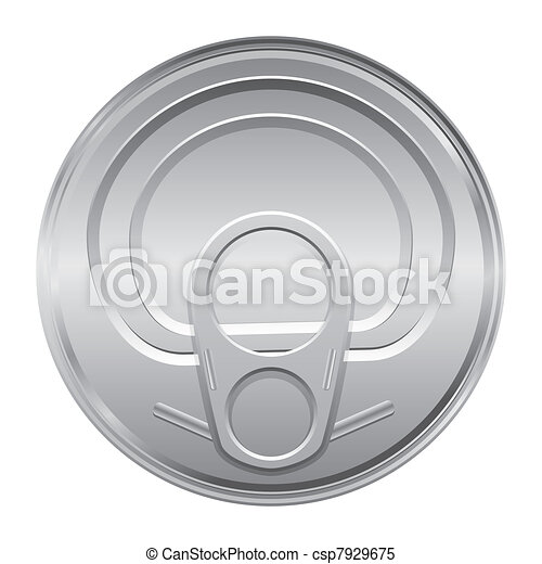 lid of a tin - csp7929675