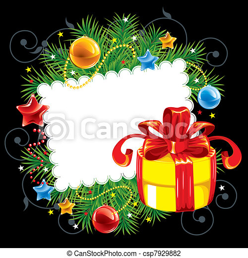 Christmas background - csp7929882