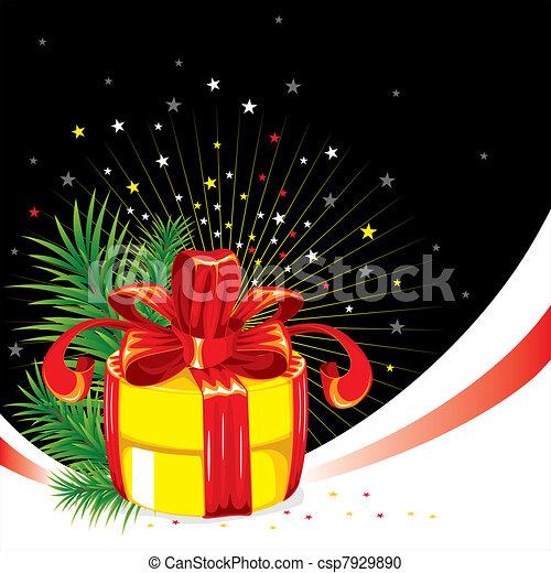 Christmas background - csp7929890