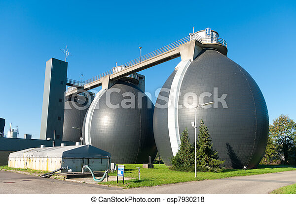 sludge digestion tanks - csp7930218
