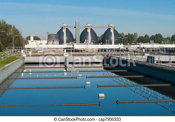 waste water plant - csp7930333