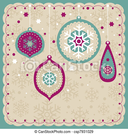 christmas lovely cute card - csp7931029