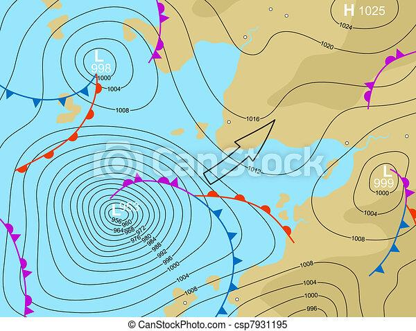 Storm depression - csp7931195