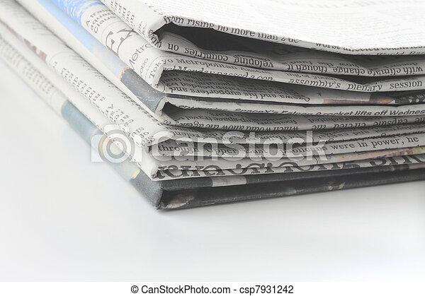 newspaper - csp7931242