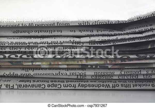 newspaper - csp7931267