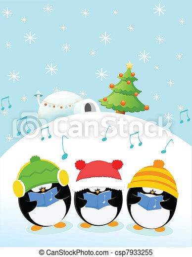 Caroler Penguins - csp7933255