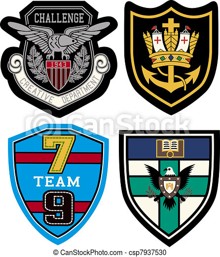 badge design set - csp7937530