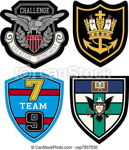 badge design set - csp7937530