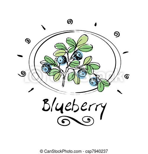 blueberry - csp7940237