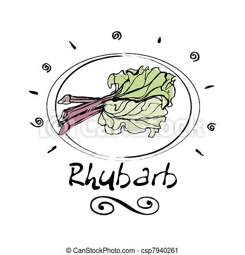 rhubarb - csp7940261
