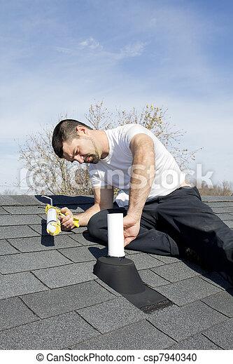 Roof Repair - csp7940340