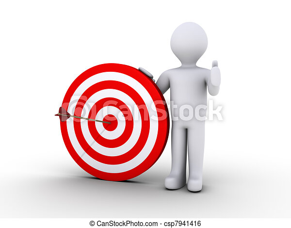 Right on target - csp7941416