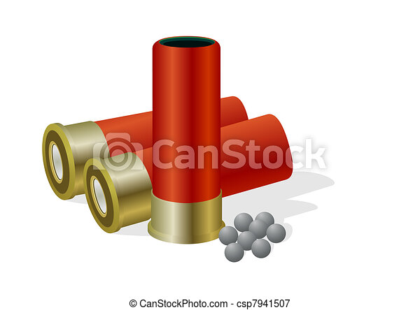 Hunting bullets and shot - csp7941507