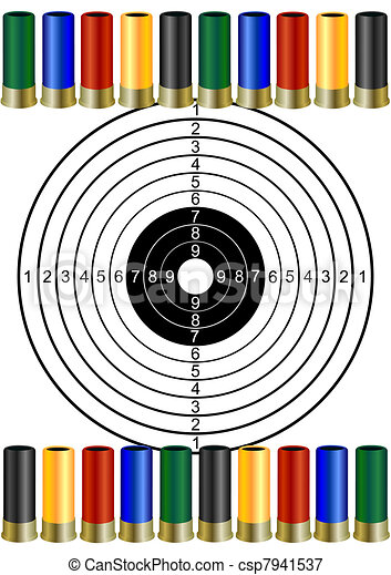 Hunting ammunition and targets - csp7941537