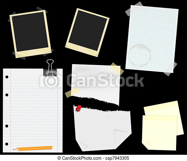 Stationery - Scrapbooking - csp7943305