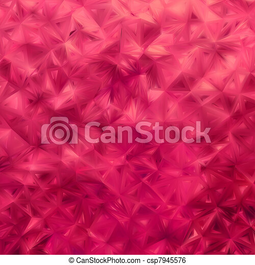 Glow red mosaic background. EPS 8 - csp7945576