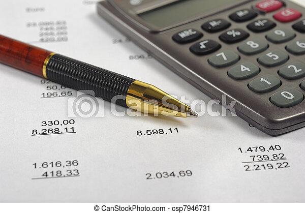 計算, 預算 - csp7946731