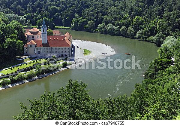 german abbey weltenburgin germany - csp7946755
