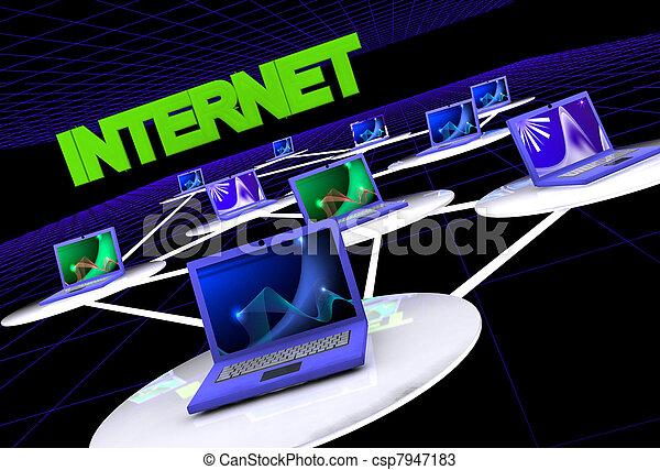 internet concept - csp7947183