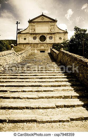 tuscan, 歴史的, 建築 - csp7948359