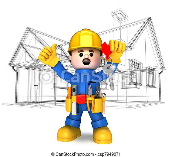 Handwerker clipart kostenlos  Handwerker Stock Illustrationen. 5.092 Handwerker Clipart Bilder ...