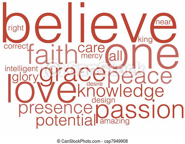 Believe - csp7949908