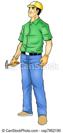 Construction Worker - csp7952190