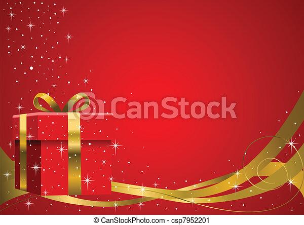 Christmas Gift - csp7952201