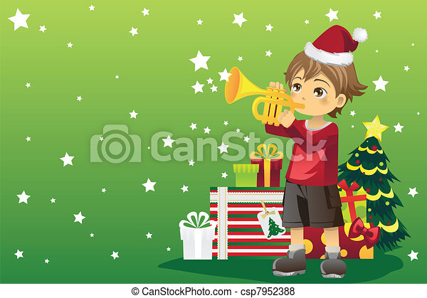 Christmas boy - csp7952388