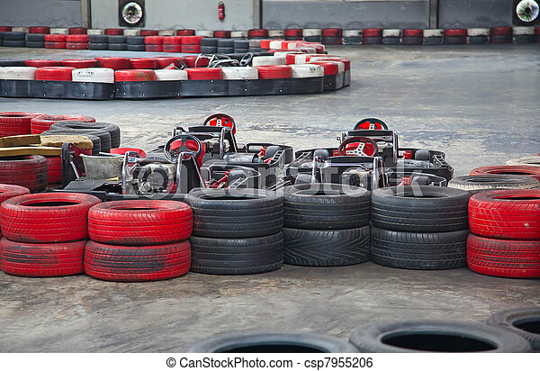 Indoor carting - csp7955206