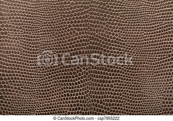 Reptile leather texture - csp7955222