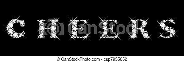 Cheers diamonds - csp7955652