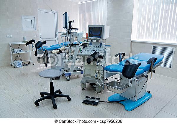 Prenatal clinic. Operating - csp7956206