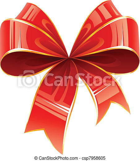 red bow - csp7958605