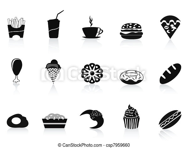 Fast Icon Vector Vector Black Fast Food Icon