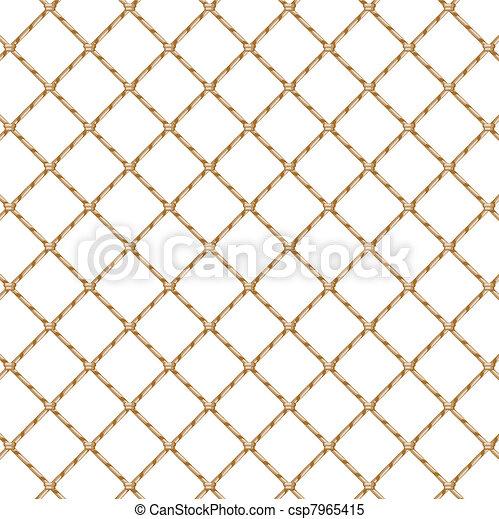 Rope net (transparent) - csp7965415