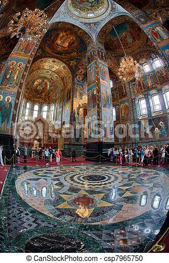 Church of the Savior on Blood - csp7965750