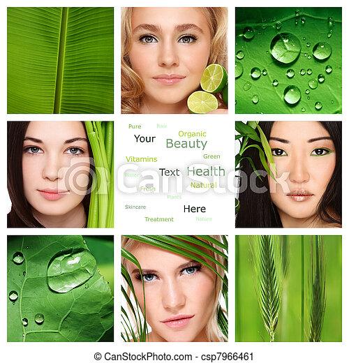 Organic skincare - csp7966461