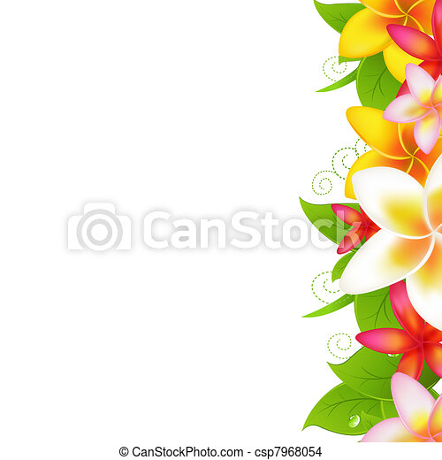 Garland From Plumeria - csp7968054