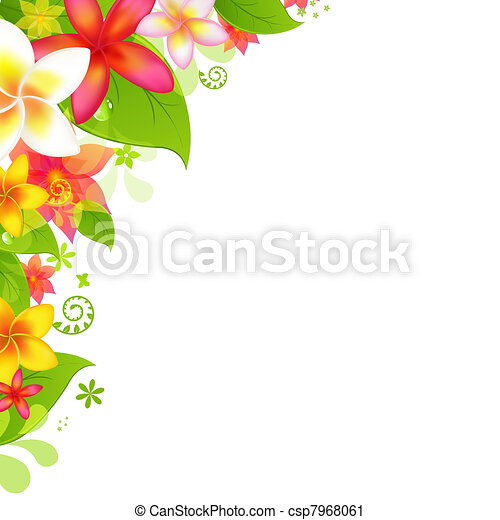 Natural Background With Flower - csp7968061