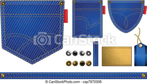 Jeans accessories - csp7970308