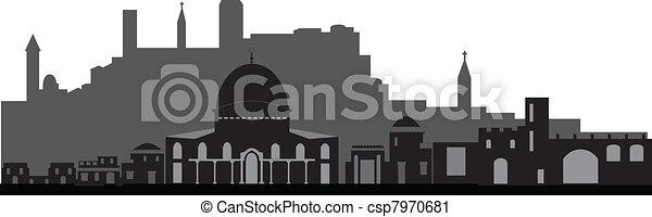 Jerusalem - csp7970681
