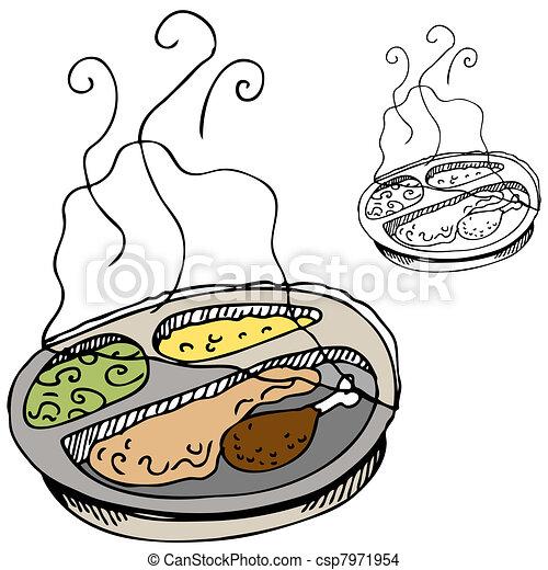 Microwave Dinner - csp7971954