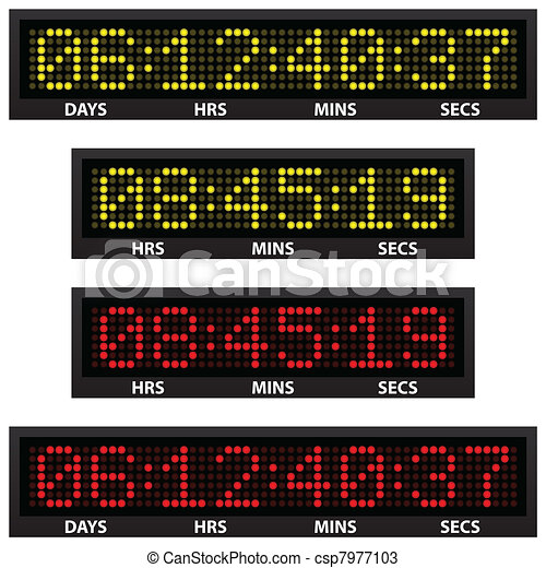 countdown timer - csp7977103